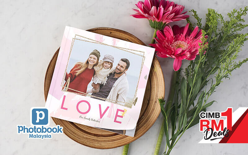 [CIMB RM1] 6 x 6 Mini Square Softcover Photobook, 40 Pages