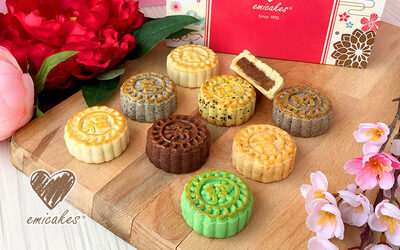 [Epig 2019] One (1) 1.2kg Kueh Lapis + One (1) Tin of Double Fortune 8 Premium Tarts