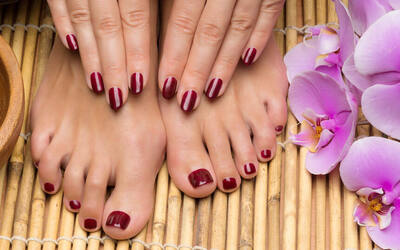 OPI Classic Manicure and Pedicure for 1 Person (2 Sessions)
