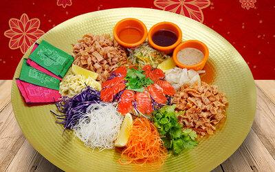 [CNY] Kampung Pandan: Salmon Sashimi Yee Sang for 10 People