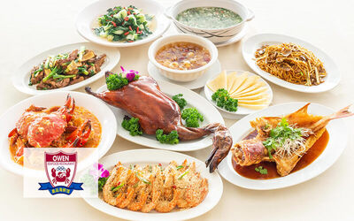 9-Course Peking Duck and Chili Crab Set Meal for 10 People
