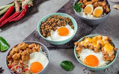 Paket Makan Oink Pork Bowl Super Kenyang + Minuman