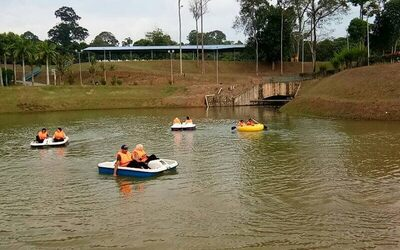 Pedal Boat Water Activity for 2 People