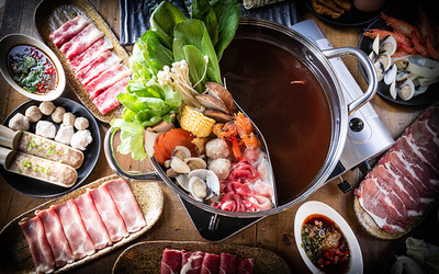 (Sat - Sun / PH) 1.5-Hour Shabu Shabu Buffet for 1 Person