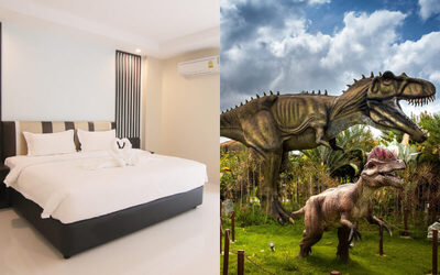 Thailand: 2D1N Stay in Deluxe Room + Breakfast + Theme Park Admission for 2 People