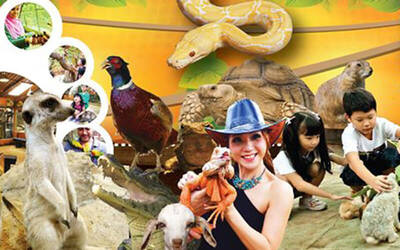 Admission to KL Tower Mini Zoo for 1 Adult