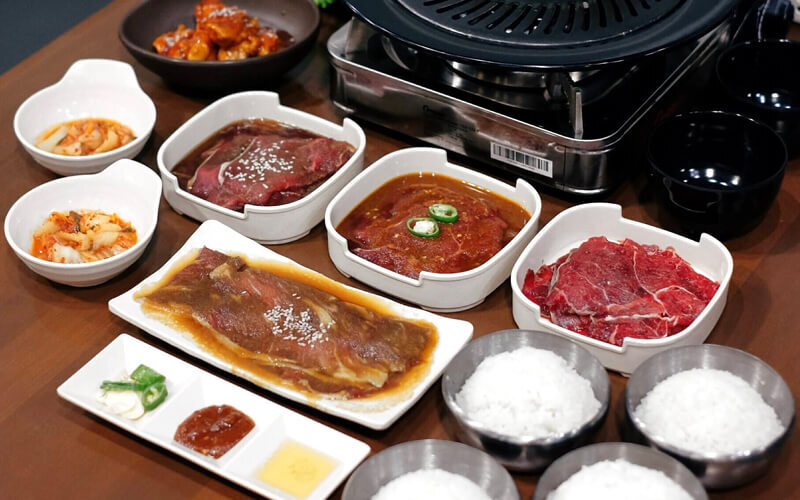 Korean BBQ Package for 2 Persons