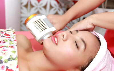 Facial Intensive + Manicure + Waxing + Underarms