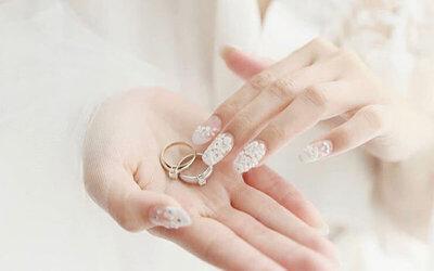 1x Wedding Nail Art Package