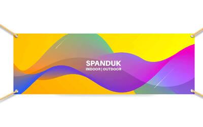 Cetak Spanduk Ukuran 3x1 + Gratis Design