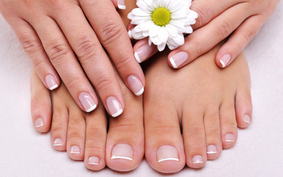 Hair Wash + Blow + Aloevera Foot & Hand Spa + Pedicure + Aloevera Hand Spa + Manicure + Nail Polish