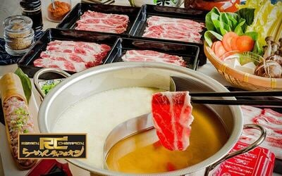 (Fri-Sun, Eve of PH, and PH) Shabu Shabu Dinner Buffet for 1 Person