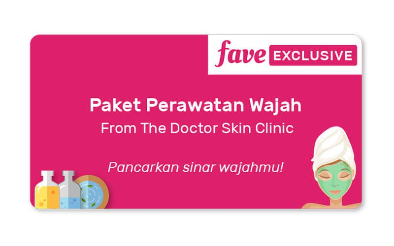 (PAKET 3x Sesi) Face Oxy Glowing + PDT/Omega Light Treatment + Free Facial Collagen