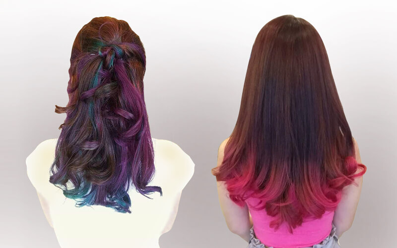 Colouring with Haircut for 1 Person