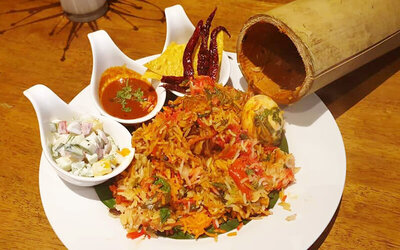 Chicken Briyani Set Meal for 1 Person