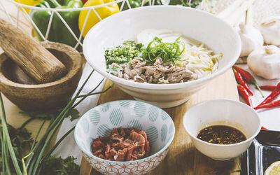 Buy 1 Free 1 Premium Vietnam Pho for 2 People