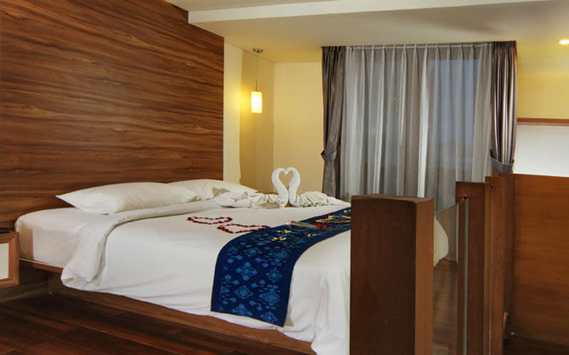 Legian: 4D3N in Family Room for 4 person + Breakfast + One Way Airport Transfer
