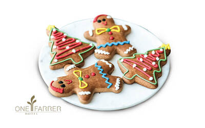 One Farrer Hotel: One (1) Gingerbread Tree Cookie