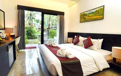 Ubud: 3D2N in Deluxe Pool View + Breakfast + Afternoon Tea + Massage