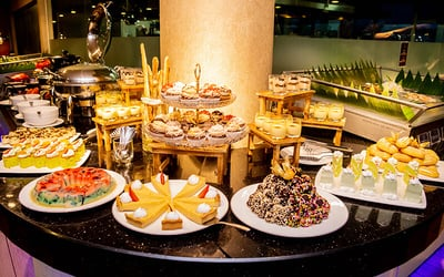 International Delights Dinner Buffet for 2 People