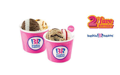 [#FaveBday] Buy 1 Get 1 Pint Size Ice Cream