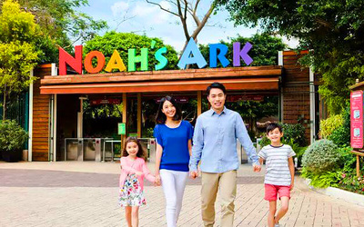 Hong Kong: Admission to Noah's Ark Theme Park for 1 Person