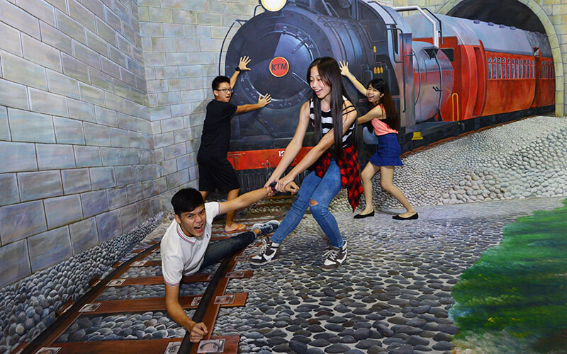 Junior Family Package: Admission to Illusion 3D Art Museum for 1 Adult and 1 Child (MyKad Holders)