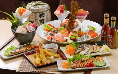 A la Carte Japanese Lunch / Dinner Buffet for 1 Person