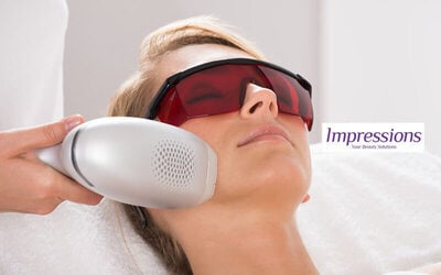 1x Diode / IPL Hair Removal Face: Facial Cleansing + Laser Hair Removal Face + Laneu Shooting Hydrogel Mask