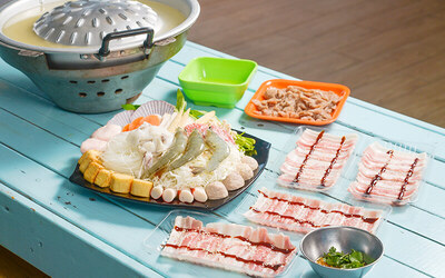 BBQ Steamboat Set Meal for 4 People (Set B)