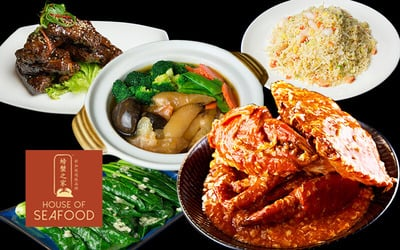 House of Seafood: 5-Course Crab Meal for 4 - 6 People
