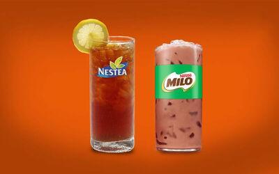 Paket Drink (Milo/Nestea)