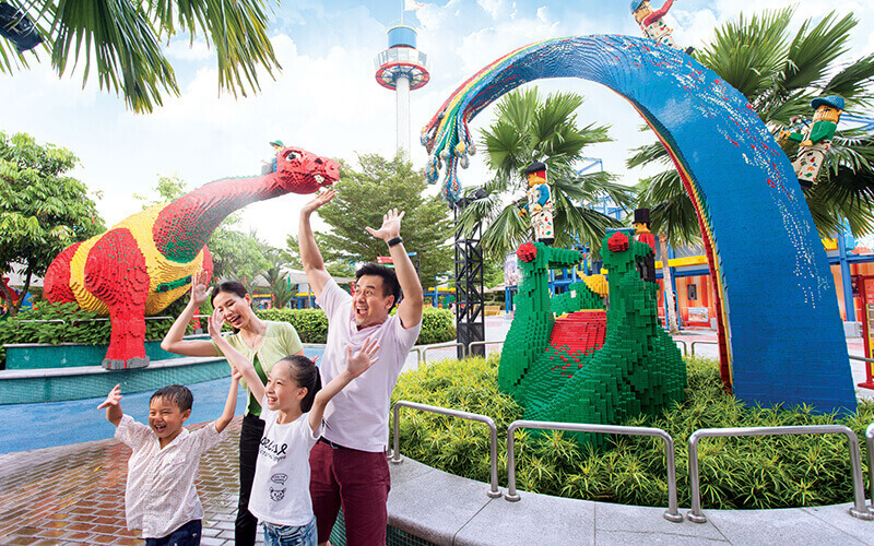 Johor: Admission to Legoland Theme Park and Water Park for 1 Adult