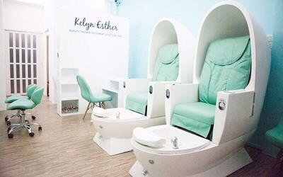 Gel Manicure with Classic Pedicure and Return Soak-Off for 1 Person (2 Sessions)