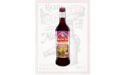 1 Botol Anggur Merah 620 ml