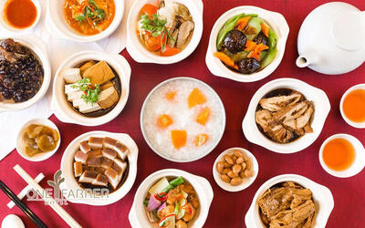 (Fri / Sat / Eve of PH) One Farrer Hotel: Kway Chap and Teochew Porridge Supper Buffet for 1 Adult