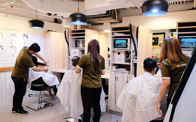 [Pacific Place Pro] 1x Hair Cut + Hair Cleaning by Ixoair