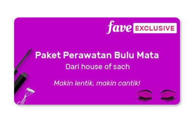 (PAKET 3x Sesi) Classic Korean Eyelash Extension