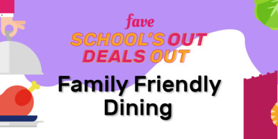 [March School Holidays Campaign] Family Friendly Dining