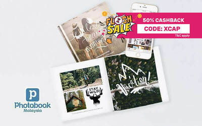 "(Photobook App Exclusive) Personalised 6""x6"" Simple Imagewrap Hardcover Photobook (20 Pages)"