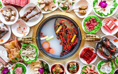 (Mon - Thu) Ma La Kong Jian Hotpot Buffet for 2 People