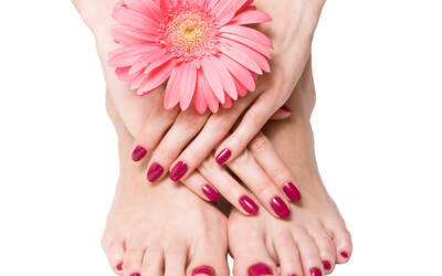Gel Manicure + Return Soak-Off + Classic Pedicure for 1 Person (1 Session)