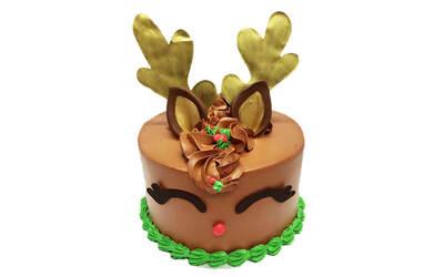 "7"" Reindeer Cake"