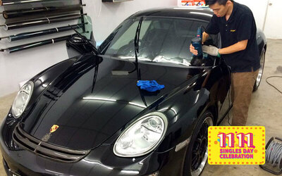 [11.11] 6mil Tinting Package with 7-Year Warranty for 1 Car