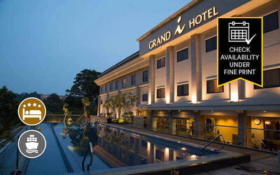 (With Perks) Batam: 2D1N Stay in Grands I Hotel with Return Ferry Transfer for 1 Person