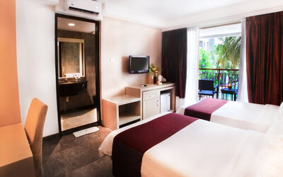 Kuta: 3D2N in Superior Room (Room Only)