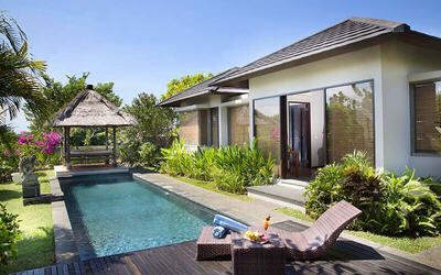 Bali: 3D2N Stay in 1-Bedroom Pool Villa with Breakfast for 2 People