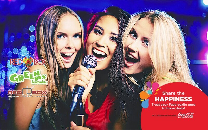 [Share The Happiness] RM50 Cash Voucher for Karaoke