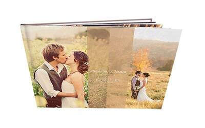 Wedding / Newborn Baby Story Album with Imagewrap Hard Cover