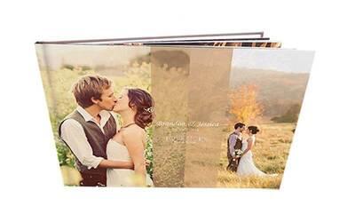 Wedding / Newborn Baby Story Album with Imagewrap Hard Cover